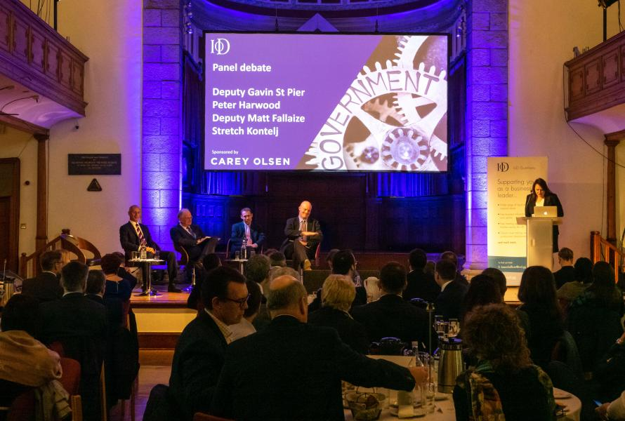 The Institute of Directors (IoD) Mid-Term Debate to focus on businesses' priorities ahead of Guernsey's Election