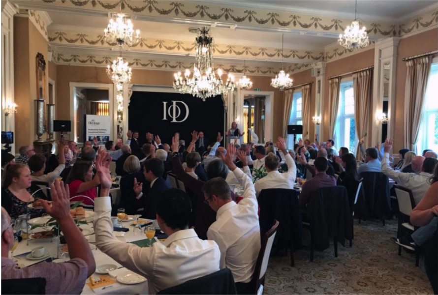 Business Community Encouraged to Share Opinions on Education and the Economy