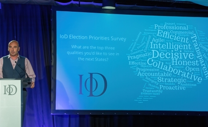 Survey Results - IoD Members Share Priorities Ahead of Guernsey's Election